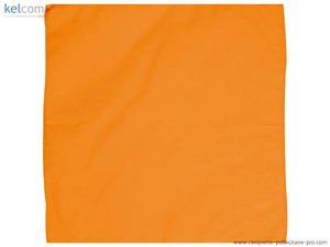 orange - Bandana carré publicitaire