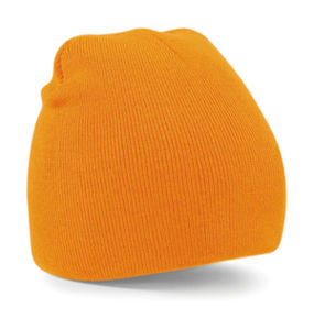Bonnet publicitaire | Povy Orange Fluo