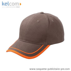 marron-orange - Cap promotionnel