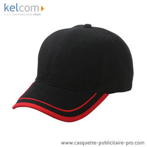 noir-rouge - Cap promotionnel
